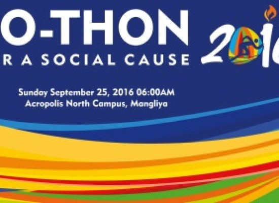 ACRO-THON – A Run for A Social Cause on Sunday Sept 25 at 6:00AM